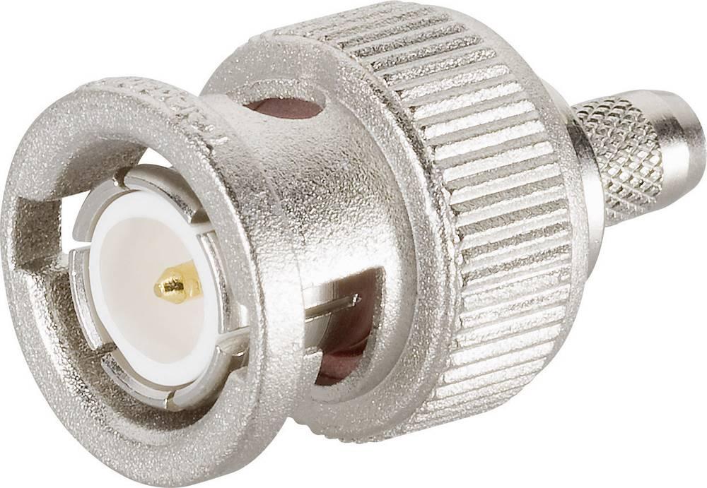 BNC-stikforbindelse Telegärtner J01000A1256 50 Ohm Stik, lige 1 stk