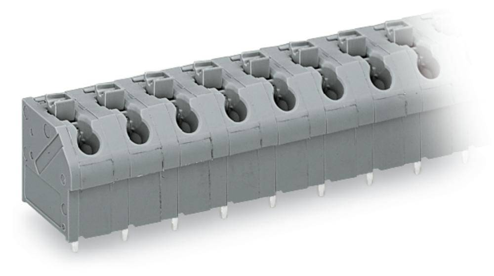 Fjederkraftsklemmeblok WAGO 1.00 mm² Poltal 3 Blå 200 stk