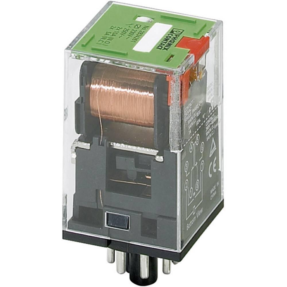 Vtični rele 24 V/AC 10 A 2 izmenjevalnika Phoenix Contact REL-OR- 24AC/2X21 1 kos