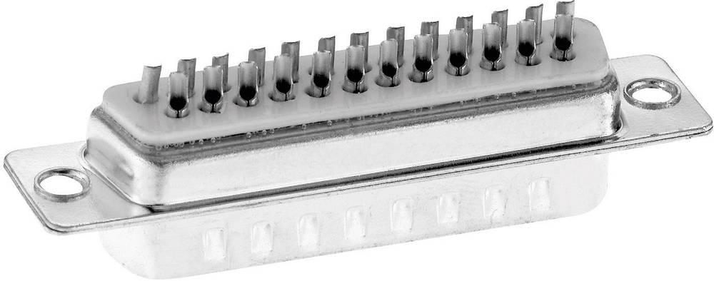 D-SUB s kontakti za spajkanje,št. polov: 25, ravna vtičnicaST2561G3 Provertha