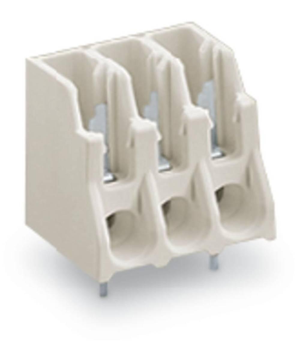 Fjederkraftsklemmeblok WAGO Poltal 7 Hvid 180 stk