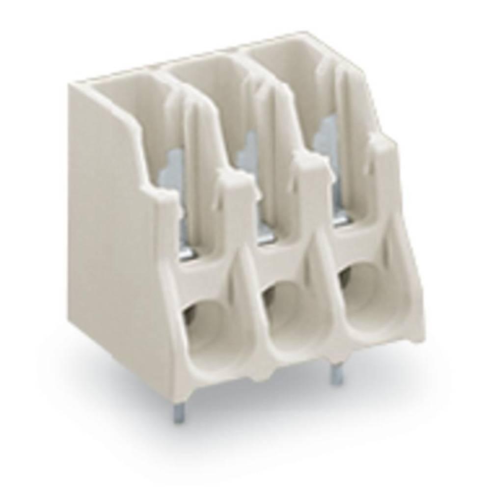 Fjederkraftsklemmeblok WAGO Poltal 10 Hvid 120 stk