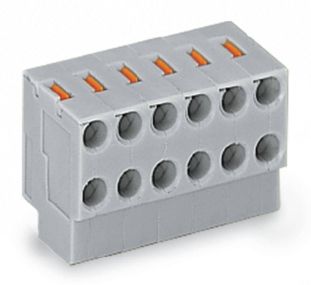 2-žični-vtičnični pritrdilni blok za tiskana vezja, mere: 3.5 mm število polov: 2 WAGO 252-102 vsebuje: 600 kosov