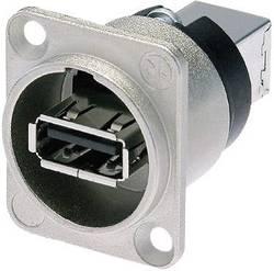 Genomföring Neutrik NAUSB-W USB 2.0 Nickel 1 st