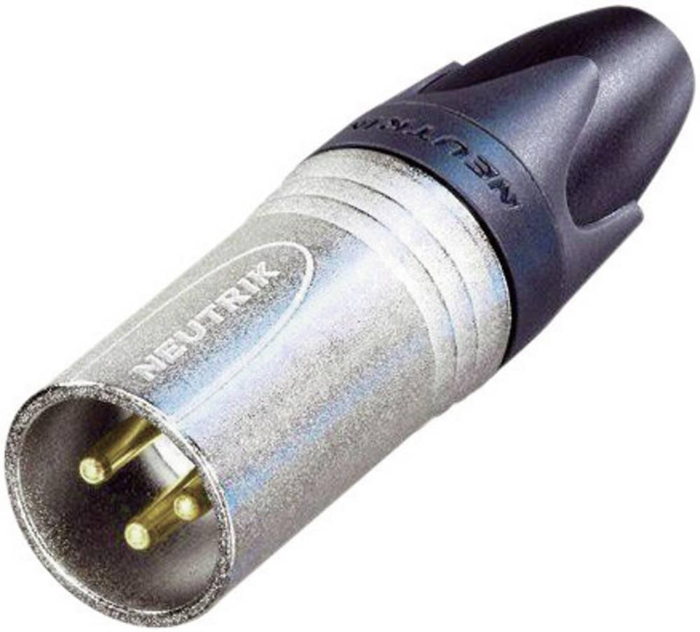 Ženski konektor XLR serije FXX-EMC raven število polov=3 NC3MXX-EMC Neutrik