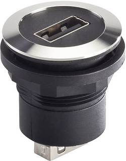 foran USB-tilslutning type A · bag USB-tilslutning type A Schlegel RRJVA_USB_AA USB 2.0 Metal 1 stk