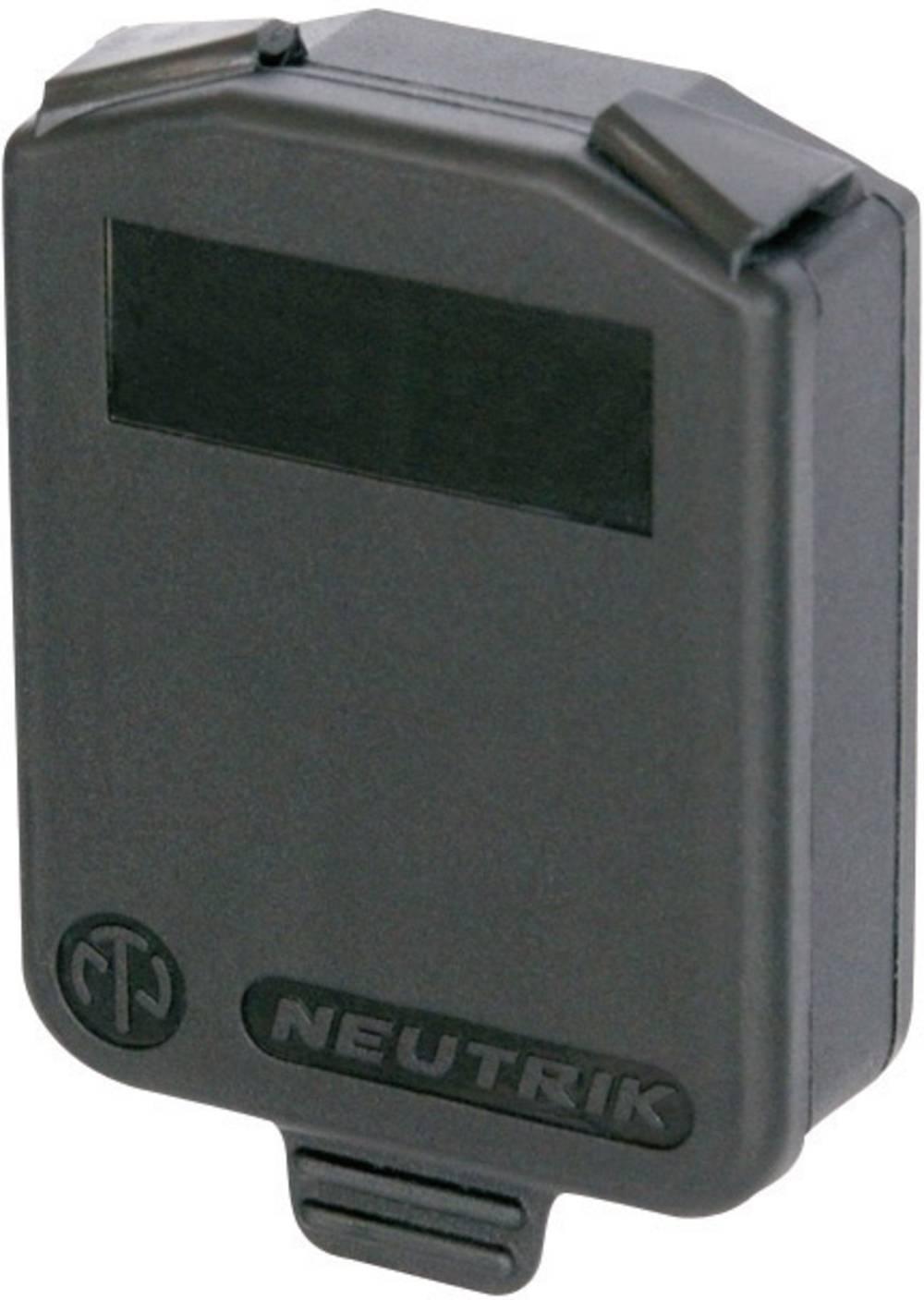 Tesnilni pokrov XLR SCDX tesnilni pokrov za vse vgradne ženske konektorje oblike D SCDX 6 SCDX6 Neutrik