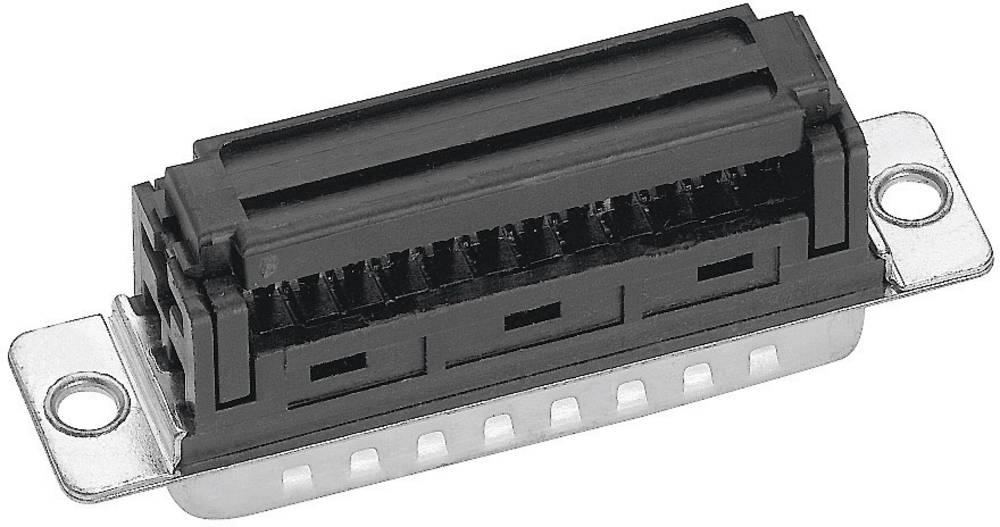 D-SUB za ploščati kabel, št. polov: 9, ravna vtičnica, spajkalni priklop, IT09164G3, Prove Provertha