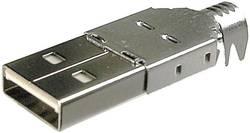 USB A BKL Electronic 10120098 USB 2.0 kontakt hane A 1 st