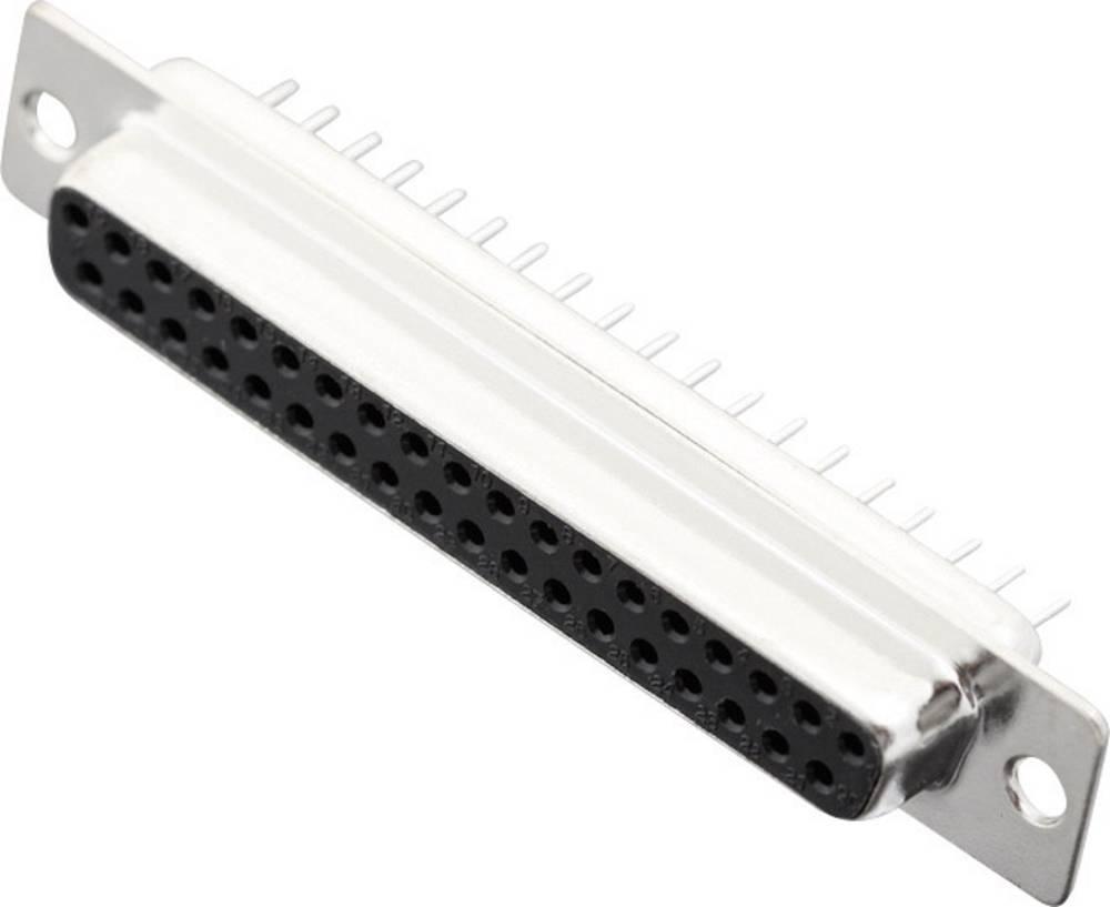 D-SUB s spajkalnim priklopom,št. polov: 37, ravna vtičnica,MHDD37-F-T-B-S, Encitech 2103-0100-14 MH Connectors