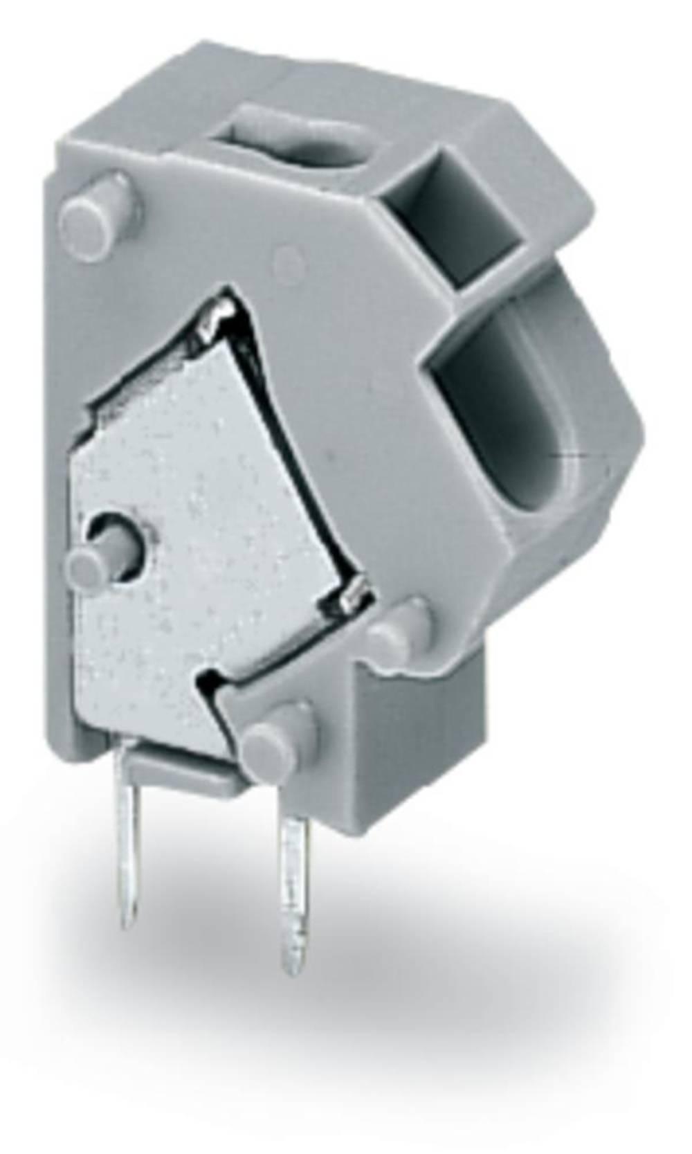 Fjederkraftsklemmeblok WAGO 1.50 mm² Poltal 1 Lysegrøn 400 stk