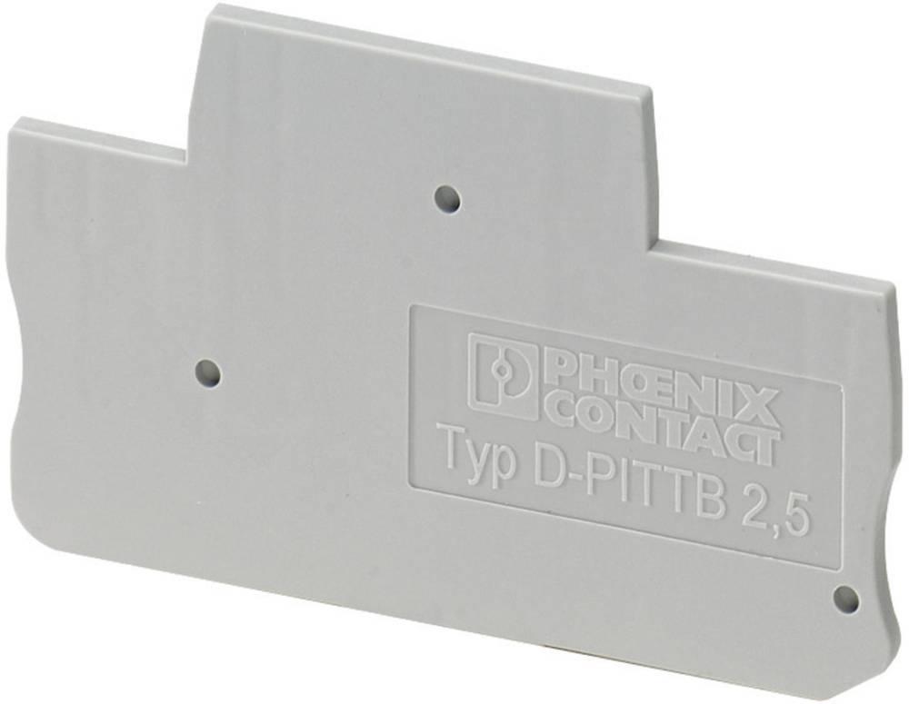 Tilbehør Terminaler PTI D-PTI/3 Phoenix Contact Indhold: 1 stk
