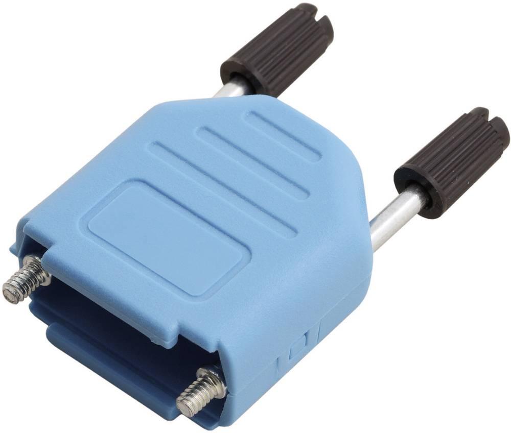 D-SUB Plastični pokrov, št. polov: 37 MHDPPK37-B-K Encitech 6353-0104-04 MH Connectors
