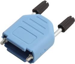 D-SUB-kabinet MH Connectors MHDPPK09-B-K Poltal 9 180 ° Plastic, metalliseret Blå 1 stk
