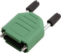 D-SUB-kabinet MH Connectors MHDPPK09-G-K Poltal 9 180 ° Plastic, metalliseret Grøn 1 stk