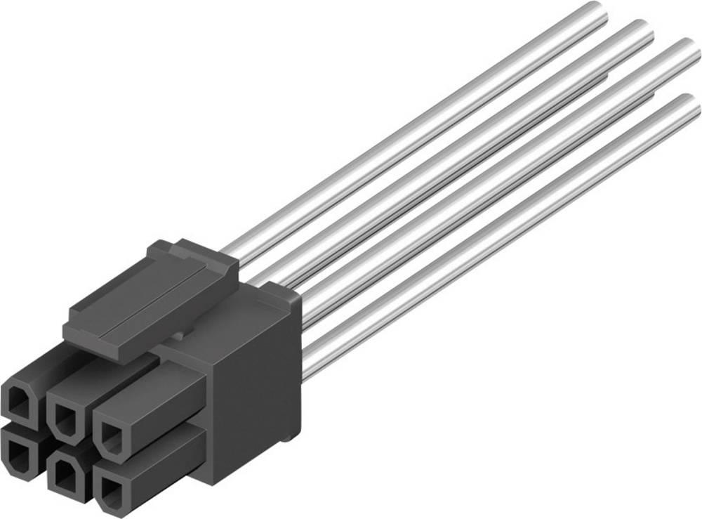 Tilslutningskabinet-kabel BLC Samlet antal poler 8 MPE Garry 433-2-008-X-KS0 Rastermål: 3 mm 1000 stk
