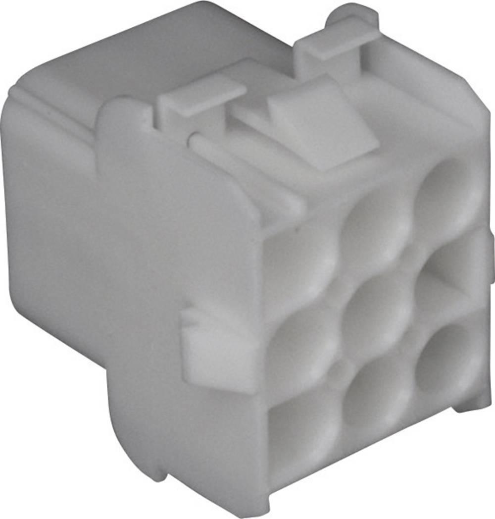 Tilslutningskabinet-kabel Universal-MATE-N-LOK Samlet antal poler 15 TE Connectivity 350784-1 Rastermål: 6.35 mm 1 stk