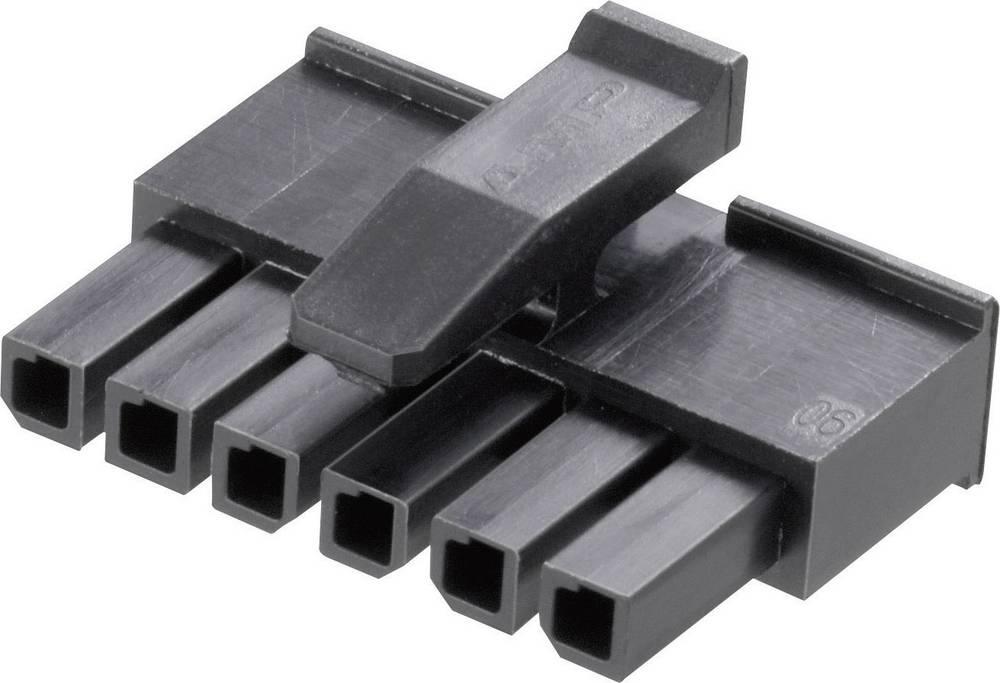 Moško ohišje za kontakte za stiskanje TE Connectivity Micro-3 mm-MATE-N-LOK 1445022-3