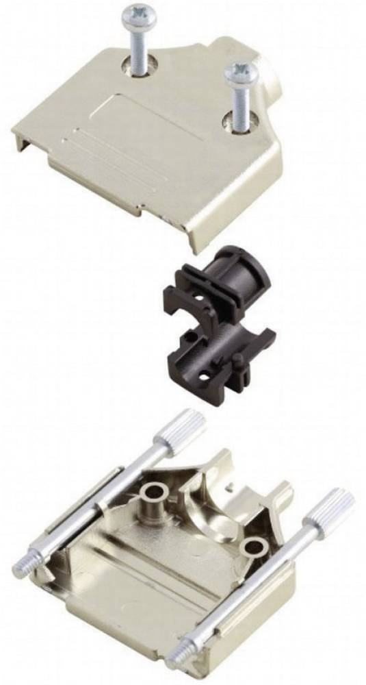D-SUB Metaliziran plastični pokrov, št. polov: 9 MHDTPK-9-KEncitech 6560-0145-01 MH Connectors