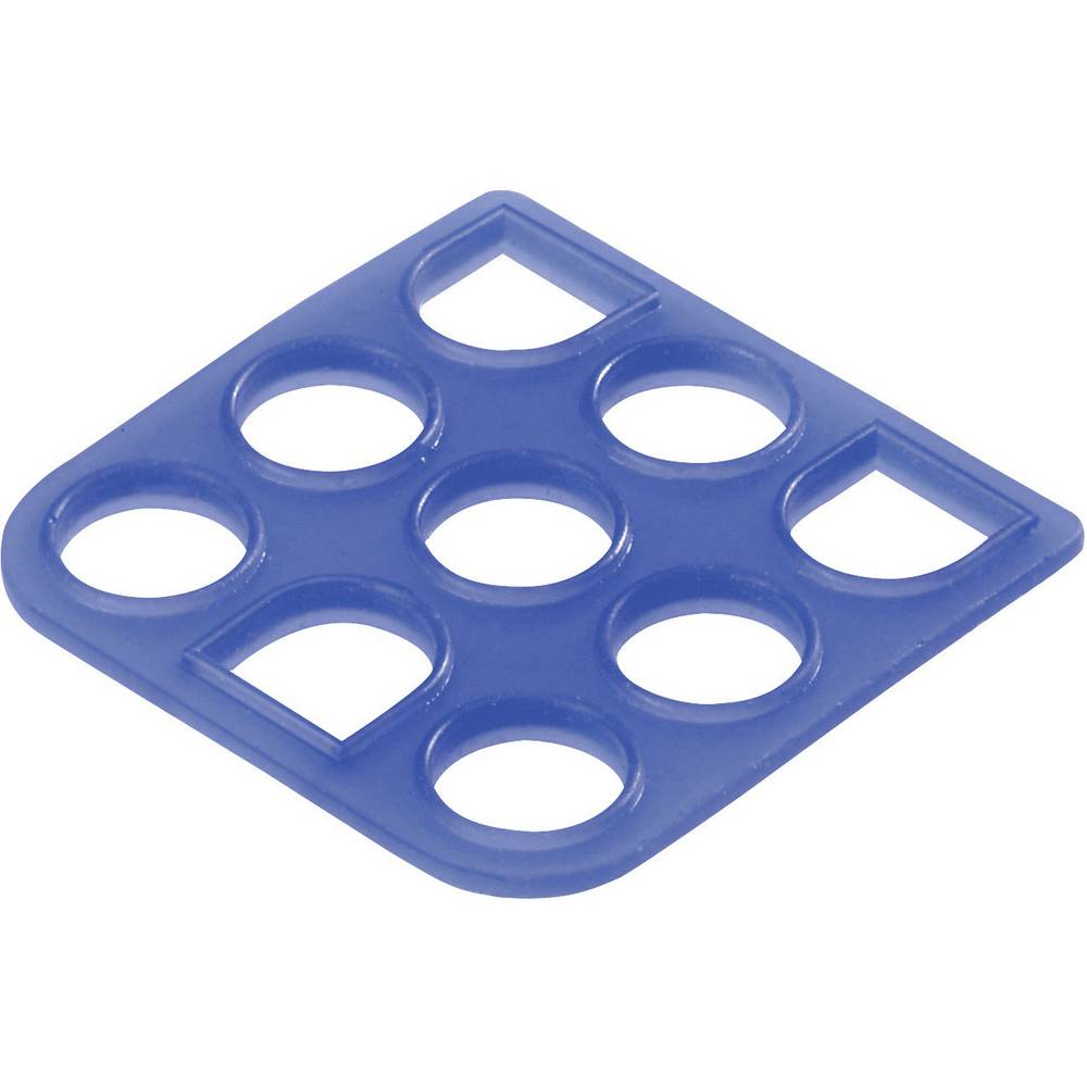Universal MATE-N-LOK, forsegling plader (IP57) TE Connectivity Mini-Universal MATE-N-LOK Poltal: 3 1 stk