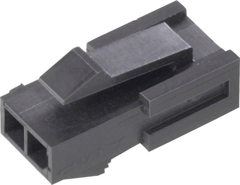 Stiftkabinet-kabel Micro-MATE-N-LOK Samlet antal poler 6 TE Connectivity 1445048-6 Rastermål: 3 mm 1 stk