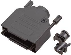 D-SUB-kabinet MH Connectors MHDTZK-15-RA-BK-K Poltal 15 180 ° Metal Sort 1 stk