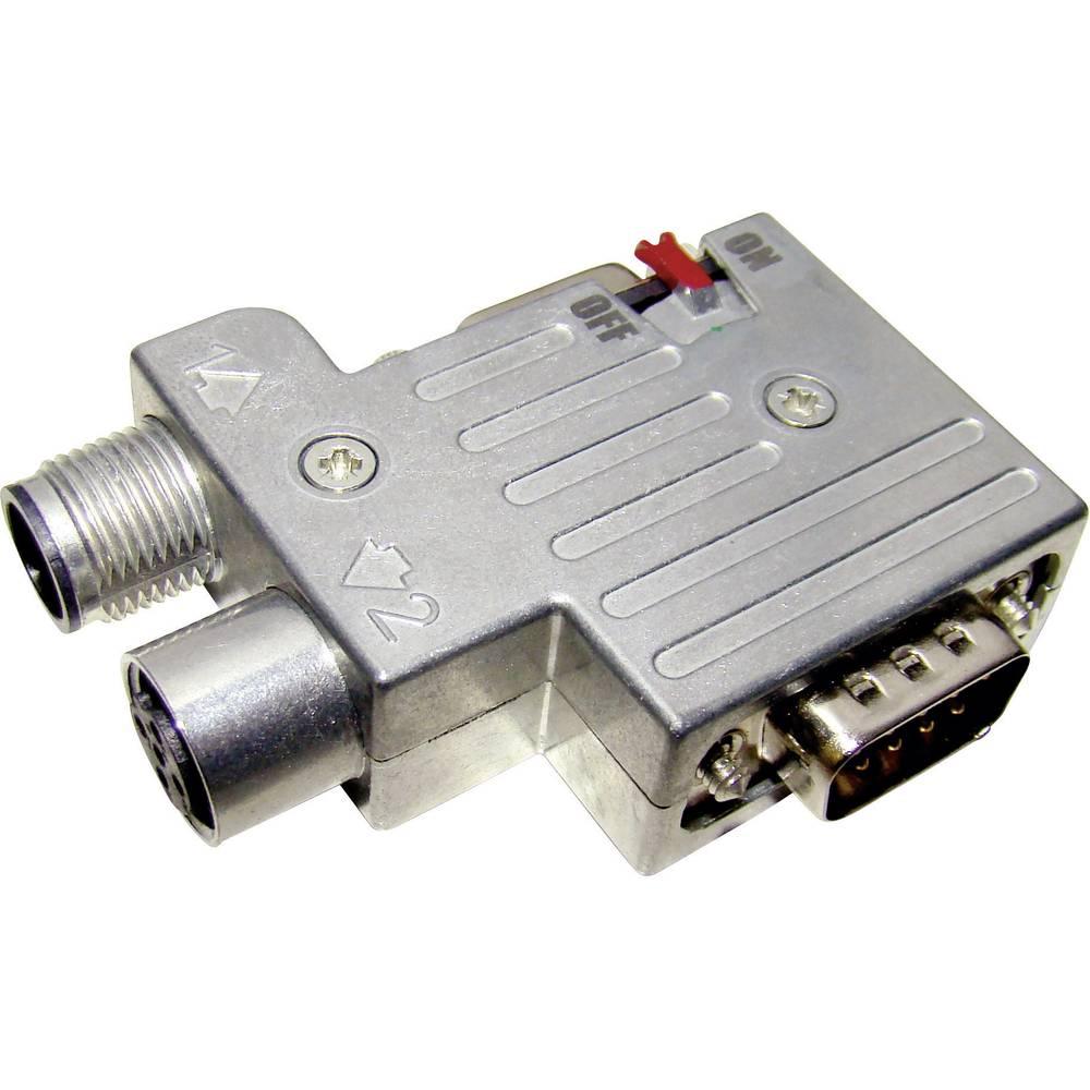 I-Net Profibus popolnoma kovinski konektor Provertha 40-1392122, vsebina: 1 kos