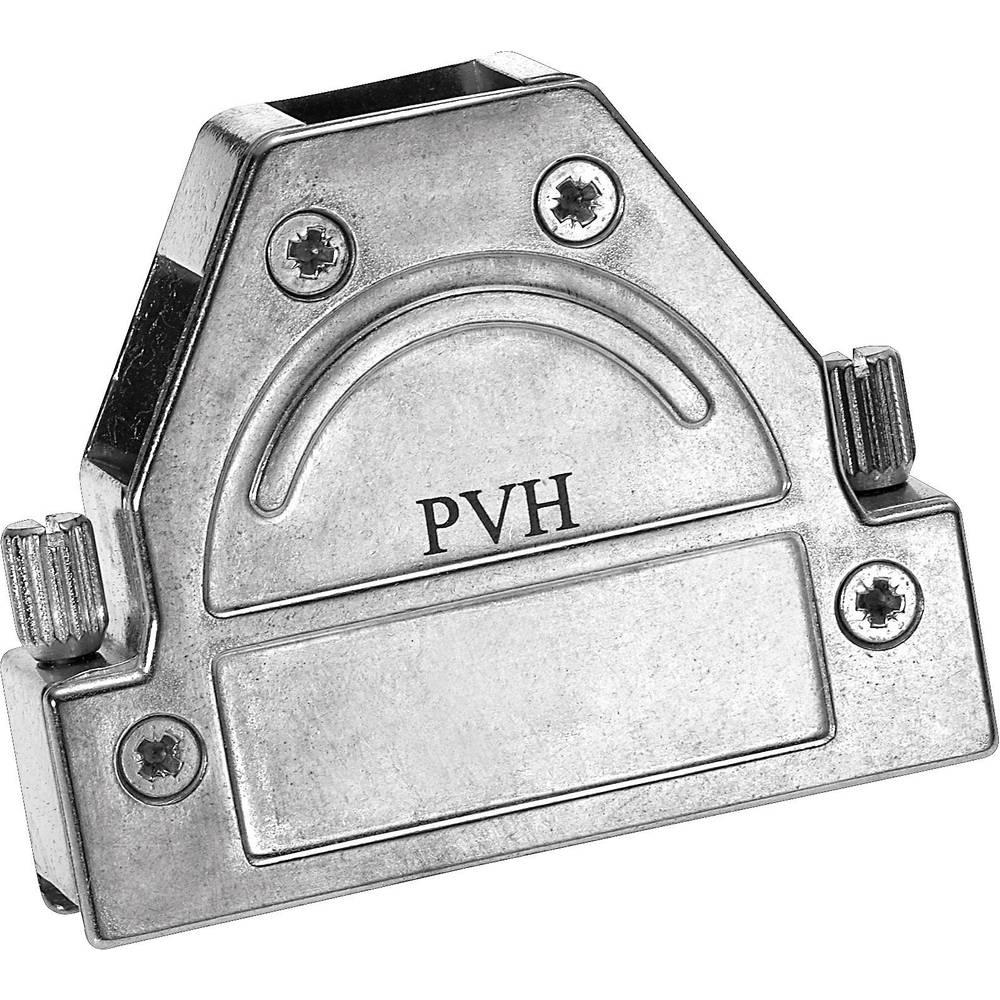 D-SUB popolnoma kovinski pokrov Provertha 1737DC25001, navojno zapiralo, poli: 37, komplet