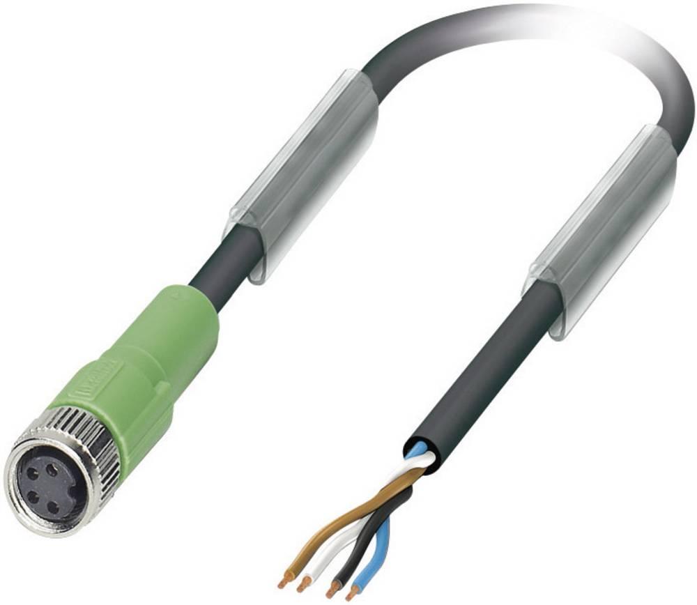 Senzorsko-aktuatorski kabel št.polov: 4 SAC-4P- 3,0-PUR/M 8FS Phoenix Contact vsebina: 1 kos