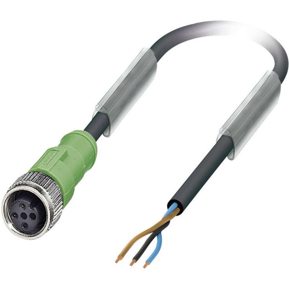 Sensor-, aktuator-stik, Phoenix Contact SAC-3P- 5,0-PUR/M12FS Poltal: 3 1 stk
