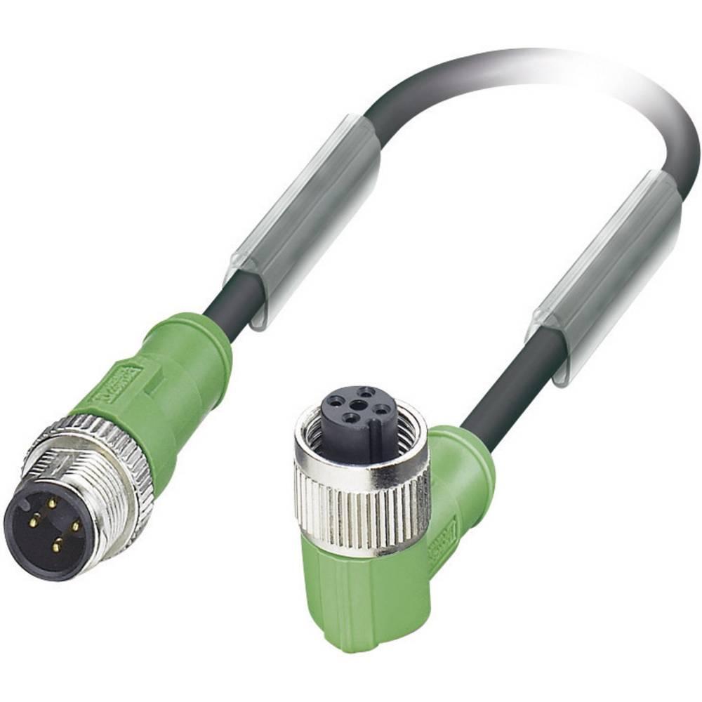 Senzorsko-aktuatorski kabel št.polov: 4 SAC-4P-M12MS/ 0,3-PUR/M12FR Phoenix Contact vsebina: 1 kos