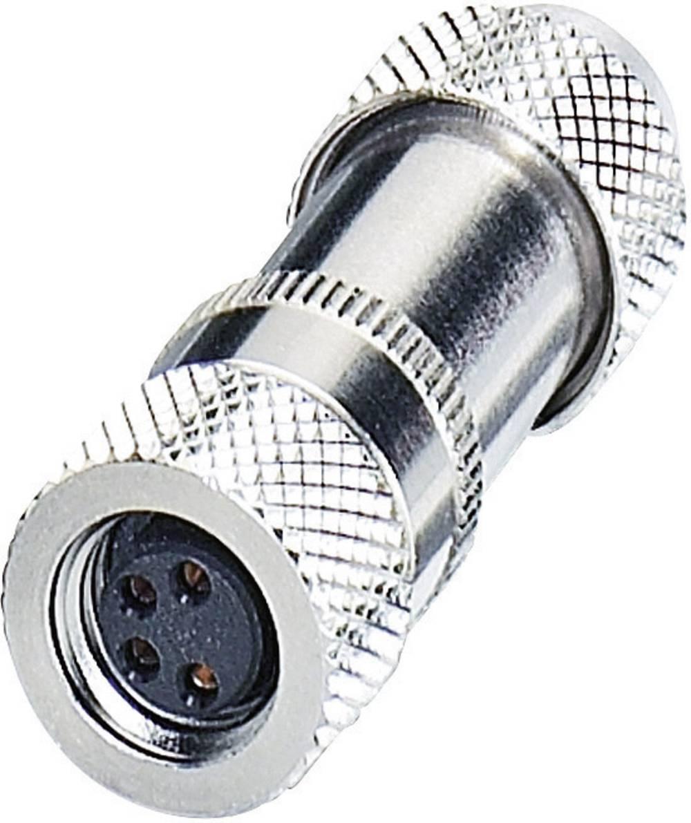 Konektorji M8 z možnostjo predpripravein navojnim priključkom SACC-M 8FS-4CON-M-SH 1506930 Phoenix Contact