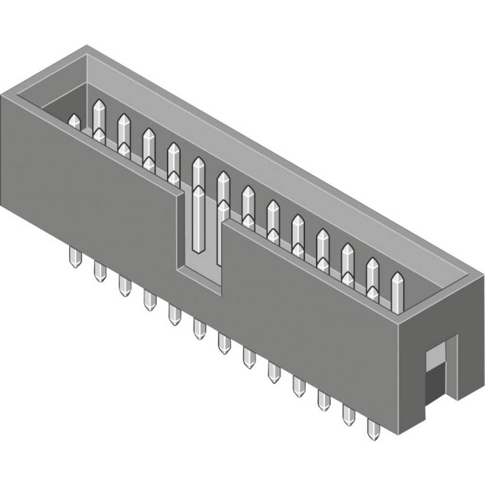 Stiftliste (standard) STL Samlet antal poler 14 MPE Garry 093-1-014-0-F-BS0 Rastermål: 2.54 mm 220 stk