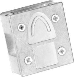 D-SUB-adapter-kabinet Provertha 7709DC4V001 Poltal 9 90 °, 90 ° Metal Sølv 1 stk