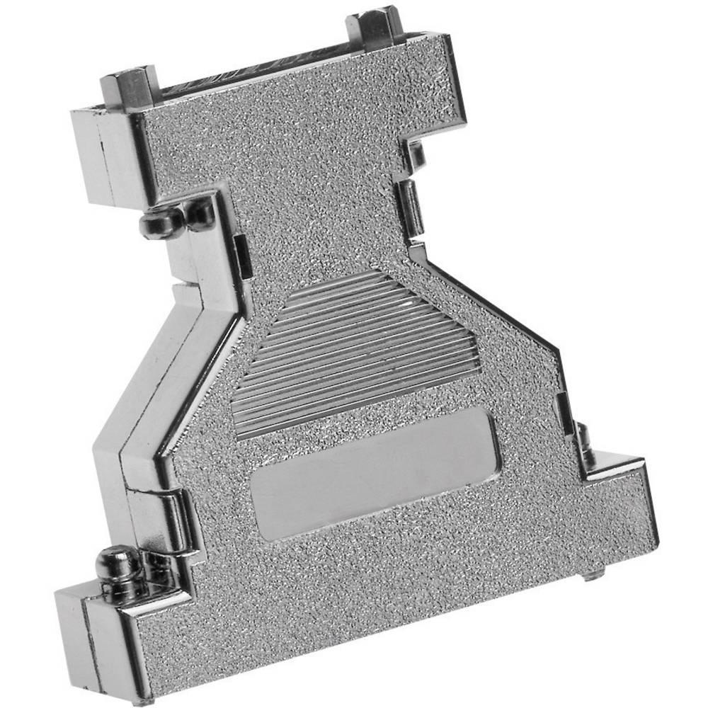 D-SUB Kovinsko ohišje adapterja, št. polov: 9 - 9 670909M, Provertha