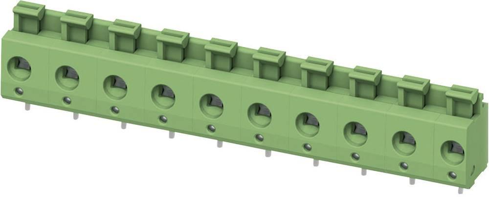 Fjederkraftsklemmeblok Phoenix Contact PTS 1,5/ 2-7,5-H 2.50 mm² Poltal 2 Grøn 1 stk