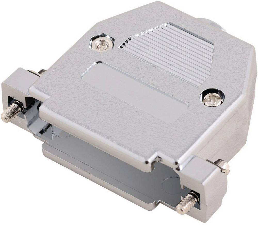 D-SUB pokrov iz umetne mase Encitech 2360-0105-04, metaliziran, poli: 37, vsebina: 1 kos MH Connectors