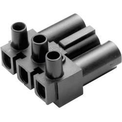 Strømstik Serie (netstik) AC Stik, vinklet Samlet poltal: 2 + PE 16 A Sort Adels-Contact AC 166 GST/ 3 1 stk