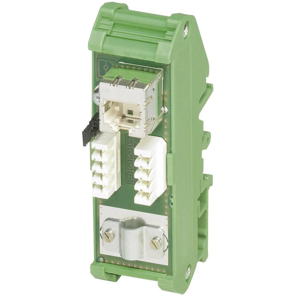 Mini RJ45 patch panel PhoenixContact FL-PP-RJ45-LSA, CAT5e(tog/fleks.), 0,128-0,325 mm2 2901645 Phoenix Contact