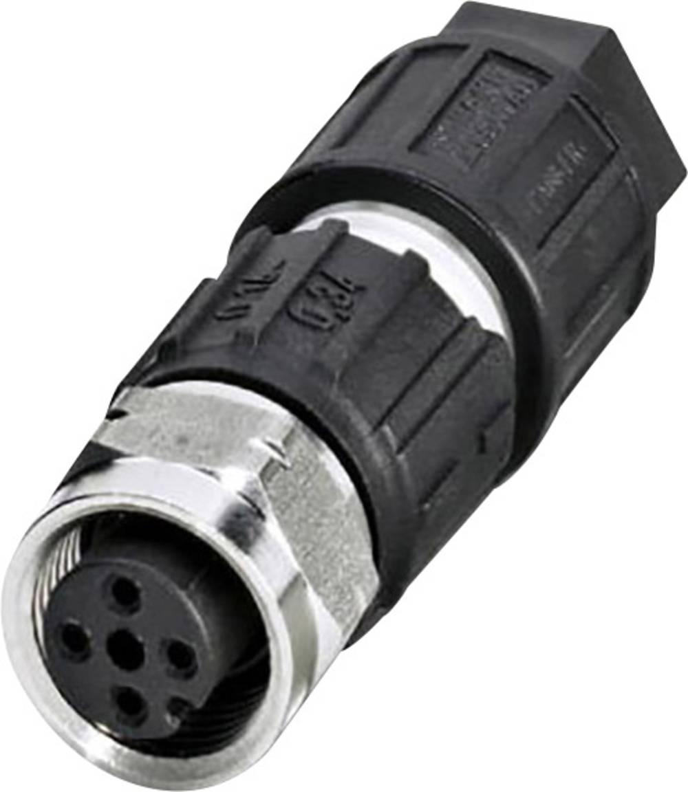 Konektor z možnostjo predpriprave za uporabo na prostem Phoenix Contact SACC-M12FS-4QO-0,34-VA 1440766