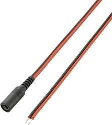 Lavvoltstilslutningskabel Lavspændingstilslutning - Kabel, åben ende;5.5 mm;2.1 mm;5.5 mm;2.1 mm;VOLTCRAFT;2 m1 stk