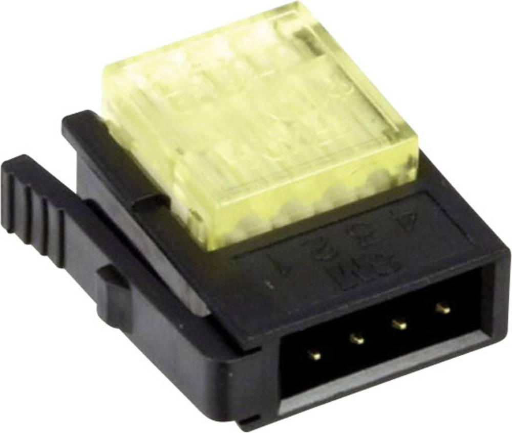 Svagstrømsforbindelse ATT.CALC.CROSS_SECTION_FLEXIBLE: 0.3-0.56 mm² ATT.CALC.CROSS_SECTION_RIGID: 0.3-0.56 mm² Poltal: 4 3M 3710