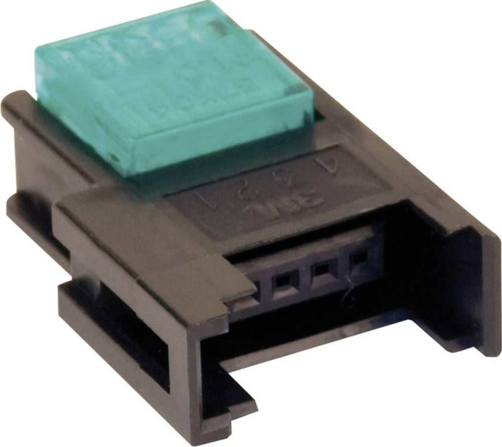 Spojka za šibki tok, prilagodljiva: 0.3-0.56 mm, togost: 0.3-0.56 mm, št. polov: 3, 3M 37303-2165-000 FL, 1 kos, modre barve