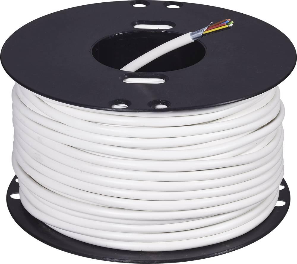 Kabel za alarm LiFY 8 x 0.22 mm bele barve ABUS AZ6360 50 m