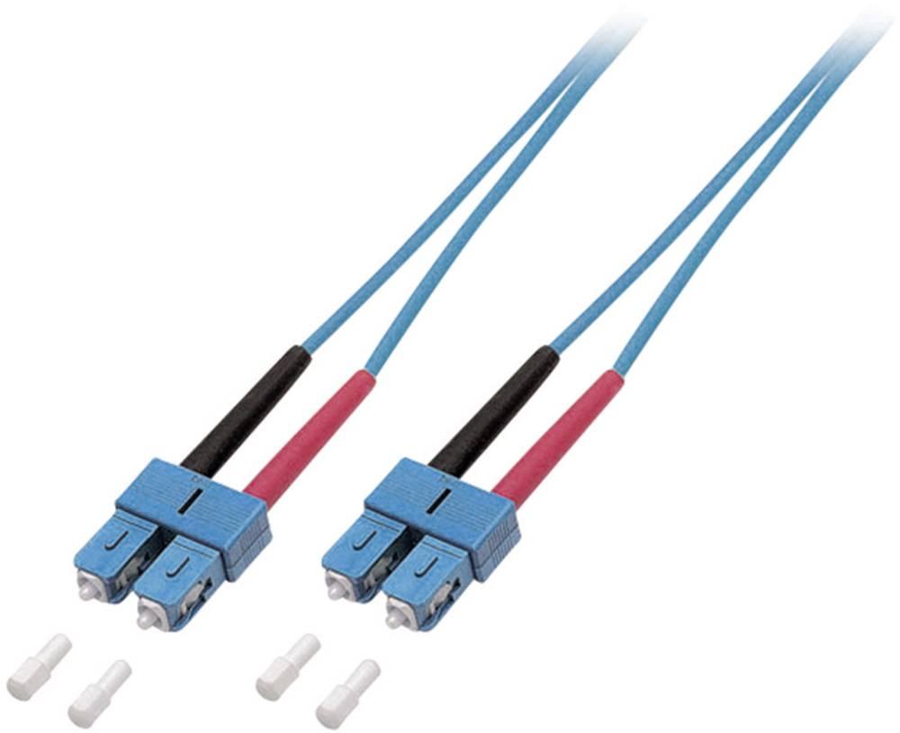 Optični priključni kabel [1x SC vtič - 1x SC vtič] 9/125µ Singlemode OS2 3 m EFB Elektronik