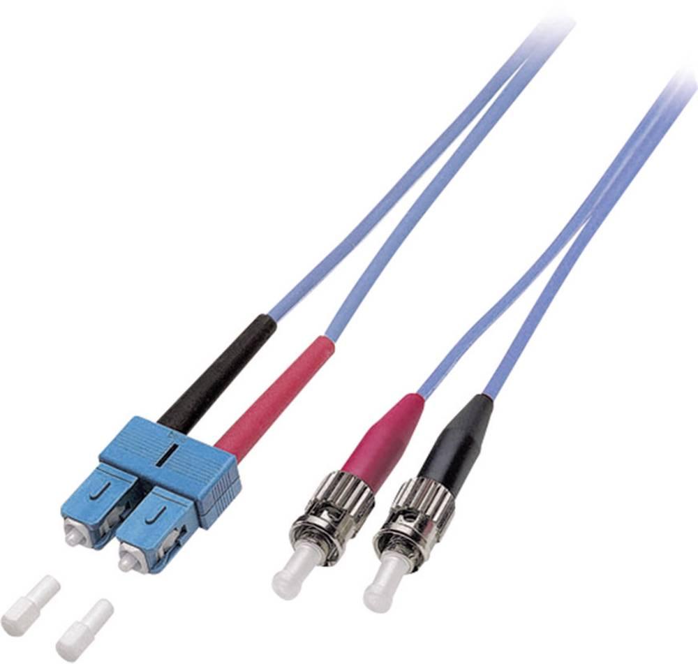 Optični priključni kabel [1x SC vtič - 1x ST vtič] 9/125µ Singlemode OS2 5 m EFB Elektronik