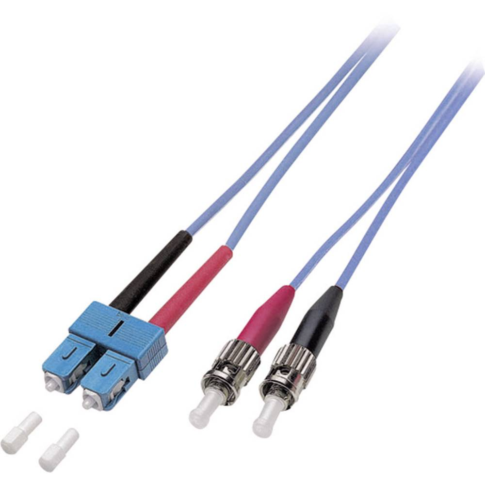 Optični priključni kabel [1x SC vtič - 1x ST vtič] 9/125µ Singlemode OS2 3 m EFB Elektronik