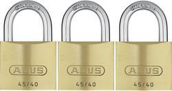 ABUS Hængelås Messing-hængelås enslukkende 45/40, sæt med 3 stk. ABVS11825