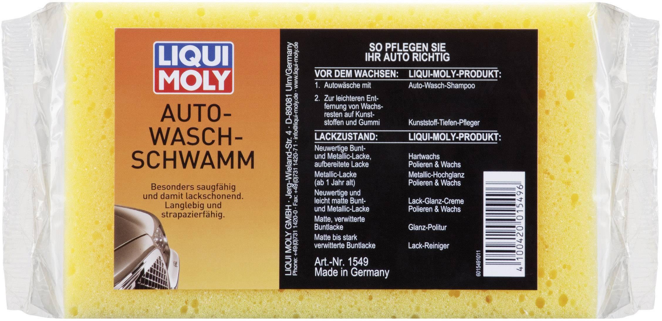 Liqui Moly 1549 Car Washing Sponge x 1