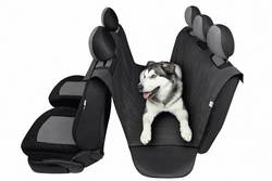 Hunde beskyttelse tæppe bagsædet HP Autozubehör Antracit 1 stk